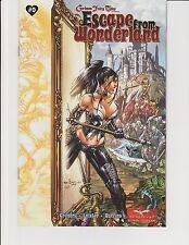Escape From Wonderland #0 2nd Print Wraparound Cover Zenescope GFT Ebas