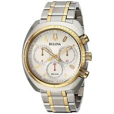 Bulova 98A157 Men's CURV Two-Tone Quartz Watch
