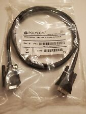 POLYCOM 1.5 M VGA male to male patch cable  2457-32613-001