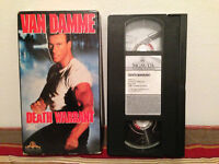 Death Warrant VHS tape & sleeve FRENCH