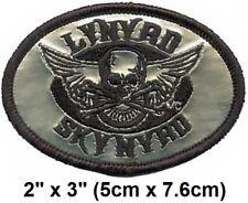 New//Lynyrd Skynyrd 7,5 5,5 CM M085 Patch Patch Aufnaher Toppa