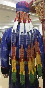 Shaman clothes hat cap Siberia Russia