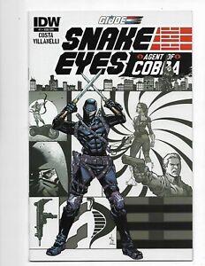 GI Joe Snake Eyes Agent of Cobra (IDW) 1SUB 2015 VF/NM