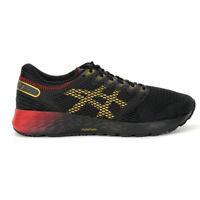 ASICS Men's RoadHawk FF Black/Rich Gold Running Shoes 1011A590.001 NEW