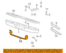 MAZDA OEM 98-06 B3000 Rear Bumper-Reinforcement 1F2050230