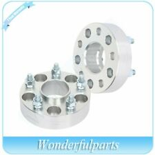 "2 pcs 1.5"" thick 5x4.5 wheel spacers 12x1.5 studs for Honda Accord Civic"
