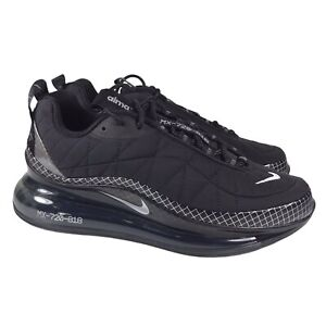 NEW Nike Air Max MX-720-818 Black Silver Running Shoes CI3871-001 Mens Size 6.5