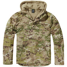Brandit Windbreaker Heren Jas Windjak Hooded Camping Anorak Jacht Tactical Camo