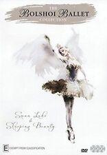 THE BOLSHOI BALLET COLLECTION swan lake /sleeping beauty - DVD - UK Compatible