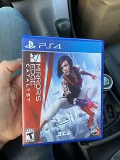 PS4 Mirror's Edge Catalyst Video Game Case Only