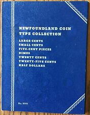 Newfoundland Coin Type Collection Canada Whitman Folder #9088