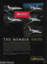 GULFSTREAM AIRCRAFT 5 JETS THE MEMBERSHIPS 200 & 100 & GULFSTREAM V AD