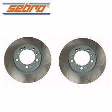 NEW Porsche 911 Boxster Cayman 1999-2012 Set of 2 Front Disc Brake Rotors 909320