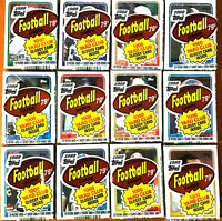 1988 Topps Football Cello Pack ~ LOT OF 12 PACKS **Possible BO JACKSON RC** 41PS