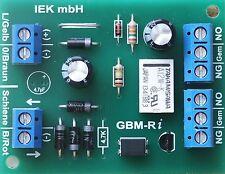 Gleisbesetztmelder mit Relais Impuls, GBM-R i, elektronisches Schaltgleis
