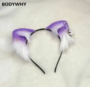 Simulation Animal Ears Cat Ears Cos Soft Girl Lolita Hair Accessories Headdress