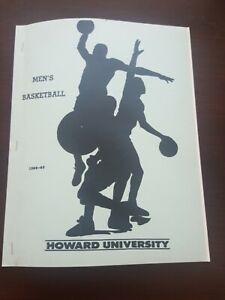 Howard University Men's Basketball Media Guide 1988-89