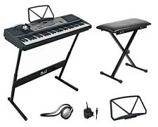 NJS 61 Key Full Size Digital Electronic Keyboard Kit With Stool & Headphones