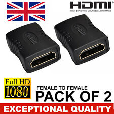 Hdmi Hembra A Micro Hdmi Tipo D Macho Adaptador F/M Convertidor conecter HD TV Gold -