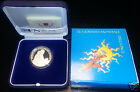 VATICAN VATIKAN COFFRET OFFICIEL LA PAIX 5 EURO ARGENT PROOF 2007 !!!