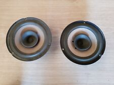 VAUXHALL ASTRA TWINTOP H MK5 04-10 RIGHT/LEFT REAR SPEAKERS 93240743