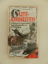 VHS Video Kassette Elite-Einheiten Luftlandetruppen und Spezialeinheiten 2. WK