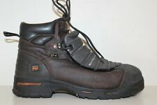 Timberland PRO Mens Endurance 6'' Met Guard Steel Toe Work Boots Sz 12 M Brown