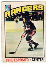 1X PHIL ESPOSITO 1976 77 O Pee Chee #245 VG opc Rangers Bruins