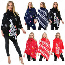 Christmas Winter Sleeveless Jumpers & Cardigans for Women