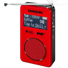 Sangean DAB+ / FM-RDS Personal Pocket Radio in Red DPR35R