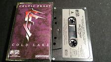 Celtic Frost Cold Lake * rare Noise 1st press. MC 1988 Chrome 120 qbiastape * NM *