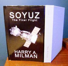 Nasa Soyuz Final Flight Science Fiction Thriller Milman Signed Book 2018