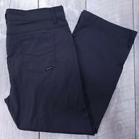 prAna Breathe Brion Outdoor Hiking Pants Mens 40x28 Gray Slim Fit Straight J212