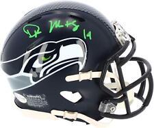 D.K. Metcalf Seattle Seahawks Signed Speed Mini Helmet - Signed in Green Ink