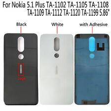 For Nokia 5.1 Plus TA-1102 TA-1105 TA-1108 1199 Rear Back Housing Battery Cover