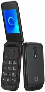 Alcatel 2053D Dual Sim Unlocked Flip Mobile Cell Feature Phohe Bluetooth FM