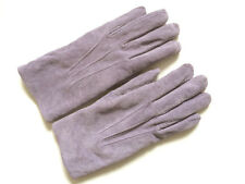 ARIS SUEDE GLOVES w/ polyester fleece lining , style 88316, sz M fit SMALL, NWOT