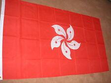 HONG KONG FLAG FLAGS 5'X3' BRAND NEW