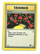 Sleep! Pokemon Team Rocket Individual Card (79/82) - NM/M Condition
