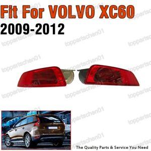 Pair Rear Fog Light Lamps For VOLVO XC60 2009-2012