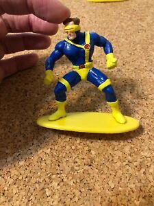 Vintage X-Men CYCLOPS PVC Figure Toy - 1994 Marvel Cake Topper