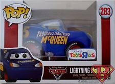 "FABULOUS LIGHTNING McQUEEN Cars 3 Pop 5"" Vinyl Figure #283 TRU Toys R Us 2017"