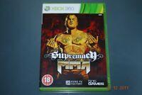 Supremacy MMA Xbox 360 UK PAL **FREE UK POSTAGE**