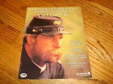 GETTYSBURG 1993 Oscar ad Jeff Bridges as Colonel Joshua Chamberlain Tom Berenger