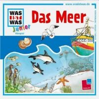 WAS IST WAS JUNIOR - FOLGE 17: DAS MEER  CD  10 TRACKS KINDERHÖRSPIEL  NEU