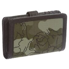 NWT~ WOMEN'S CARHARTT CAMO FLORAL LEATHER/CANVAS CLUTCH, WALLET MSRP: $54.99
