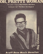 ROY ORBISON - OH, PRETTY WOMAN (SHEET MUSIC HOLLAND 1964)