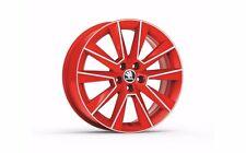 """Original SKODA aloy wheel SAVIO 7.0J x 17"""" 5JA071497E MN4"""