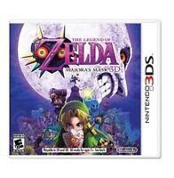 The Legend of Zelda:  Majora's Mask 3D (Nintendo 3DS, - NEW