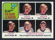 1975-76 Topps Hockey #327  St.Louis Blues TL